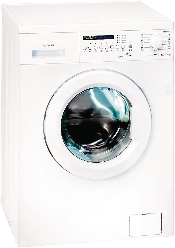 wm 7214 weiss exquisit grogerte lavatrici. Black Bedroom Furniture Sets. Home Design Ideas