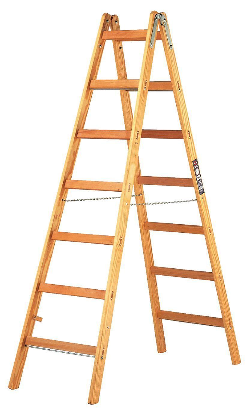 Как сделать лестница приставная раскладная