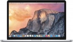 Apple MacBook Pro 15-inch Retina Core i7 2.2GHz/16GB/256GB/Intel / Silber