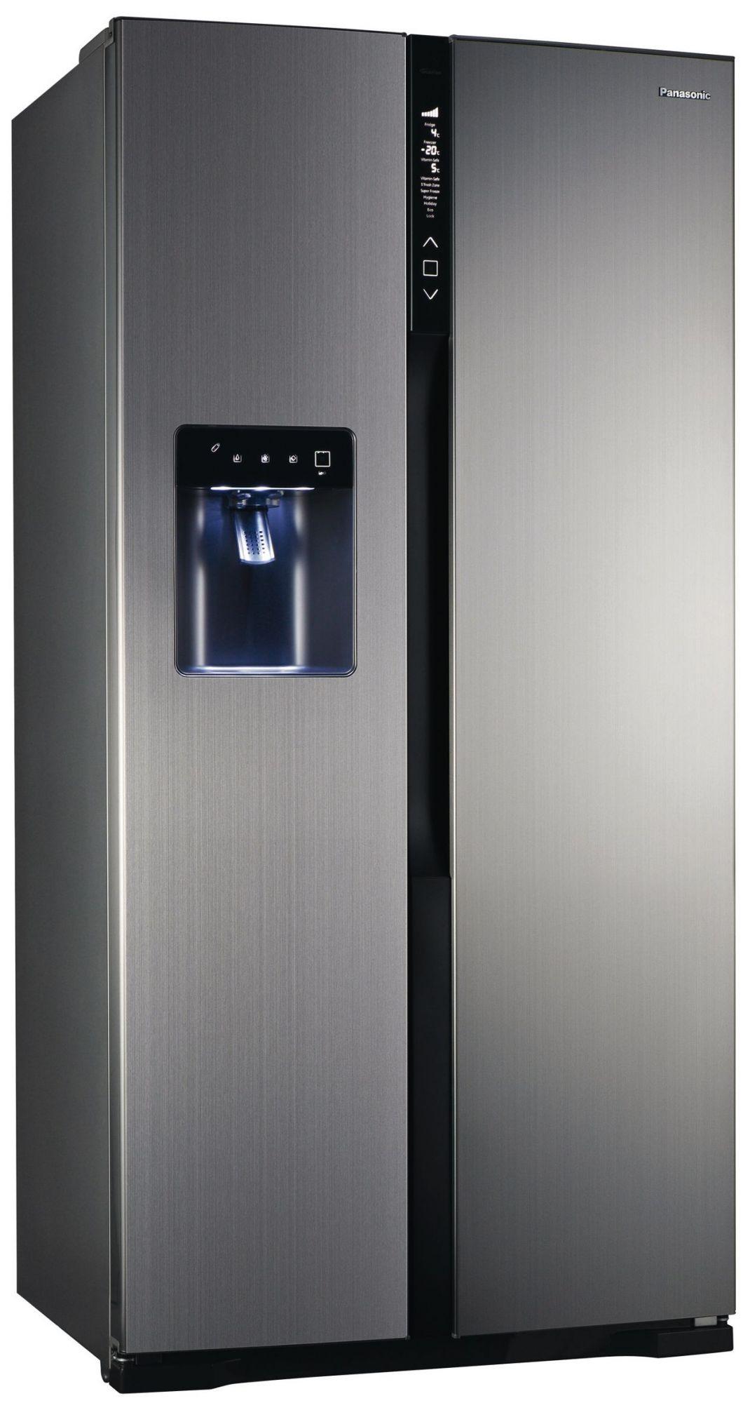 nr b53v1 xe edelstahl panasonic elektro gro ger te side by side. Black Bedroom Furniture Sets. Home Design Ideas