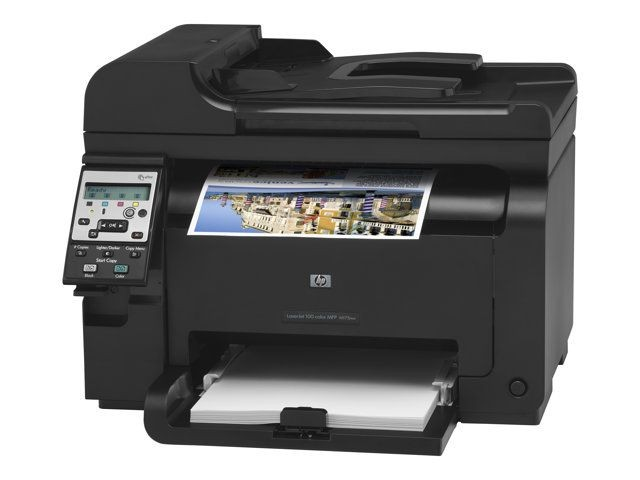 Handleiding hp laserjet 100 color mfp m175nw