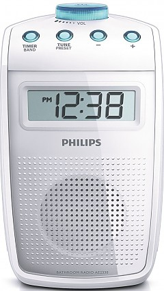Philips Audio/Video (Gibson) AE 2330/00  bianco-azzurro