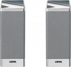 Loewe normal Satellite Speaker / Alu-Silber